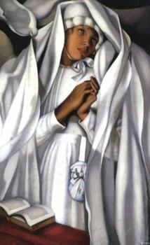 Tamara De Lempicka : The Communicant